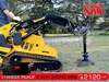 2017 DIGGA MINI AUGER DRIVE UNIT 2 way swing suit Vermeer Mini loaders [ATTAUGD]