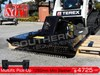 2017 DIGGA 1250MM SLASHER / Brush Cutter attachment Universal skid steer pick-up