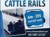 MISC CATTLE RAIL FENCING