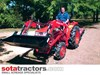 KUBOTA L1-22DT TRACTOR WITH 4 IN 1 FEL 26HP