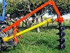"EUROFARM POST HOLE BORER W/ 12"" AUGER"