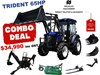 2019 TRIDENT 65HP EOFY COMBO DEAL (FEL + BACKHOE + SLASHER +FORKS) 654