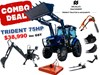 2019 TRIDENT 75HP COMBO DEAL (FEL BACKHOE SLASHER FORKS AUGER)
