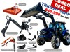 2020 TRIDENT 90HP COMBO DEAL (BACKHOE SLASHER AUGER FORKS)
