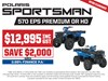 2020 POLARIS SPORTSMAN 570 HD EPS