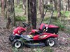 ATEX AR950 4WD RIDE ON MOWER & SLOPE BRUSH CUTTER