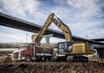 Caterpillar hybrid excavator powers into Australia