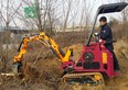 Cougar EXL series is a mini loader and excavator in one