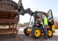 The case for single boom skid steer loaders