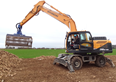 Case study: Using a wheeled excavator for beet harvest
