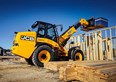 JCB shows off TM320 telescopic wheeled loader