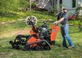 New VP30 cable trencher from Ditch Witch
