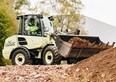 Volvo  electric wheel loader prototype