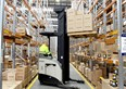 Crown forklifts providing muscle for supplements supplier