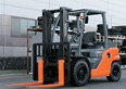 Design award recognition for Toyota's 8-Series forklifts