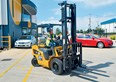 Review: Cat GP25N LPG forklift