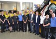 JCB UK director meets Australian customers