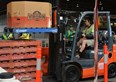 Girl Power as Kirstie wins Toyota Forklift Challenge