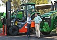 New Toyota forklifts for farm dealership