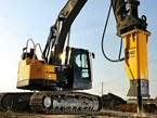 Quarry feature: Volvo's new series of hydraulic breakers