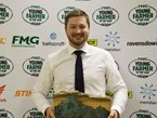 Cameron Black named Aorangi FMG Young Farmer of the Year
