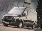 The Mercedes Benz Sprinter silver celebration