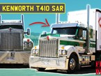 First drive of the new Kenworth T410 SAR