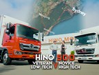 Hino 500 Road Trip: Veteran VS Novice