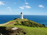 The iconic lighthouse at Cape Reinga