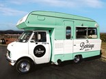 This restored 1974 Bedford Cresta campervan has been converted for a mobile business