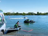 Jetskis galore at the Go Outdoor Show 2013.
