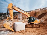 Case study: Case CX470C excavator at work in the Botticino marble quarries