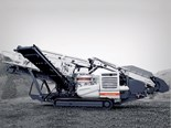 Metso Lokotrack LT220D combines screening and crushing