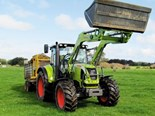 Claas Arion 620C tractor.