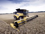 New Holland brings most powerful CR combine into Australia