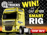 Win our DAF XF105 Smart Rig