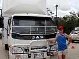 Sunshine Coast removalist takes delivery of first JAC truck
