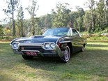 1963 Ford Thunderbird: Our shed