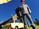 Off the wall: Trabant