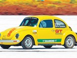 VW Beetle: Salt Lake Racer: Our shed