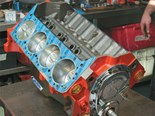 Chevrolet 350 small-block engine