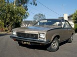 1975 Holden LH Torana: Our shed