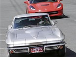 1966 & 2014 Corvette Stingray