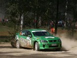 Crowd thriller Commodore in Bosch Australian Rally Championship