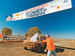 The Finke Desert Race in a Hummer