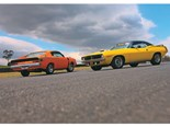 VH Valiant Charger R/T E49 vs '71 Plymouth Hemi 'Cuda