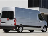 Offering a definite French take on the bonneted van design, the Master is snub-nosed, with a curved bonnet line that plunges down the grille into the high bumper line, creating plenty of ground clearance.