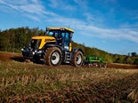 JCB unveiled its new 3000 series Fastrac tractors which the company claims consume less fuel than its predecessors