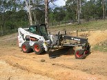 Bobcat's new automated slope sensor solution allows for grading jobs on any terrain