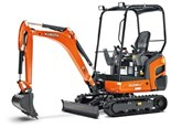 Kubota expands mini excavator range